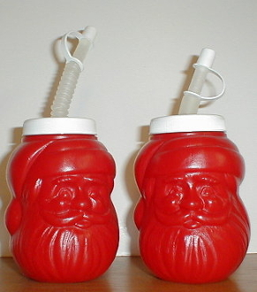 Santa Claus Drink Container