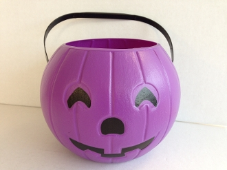 8'' Purple Pumpkin